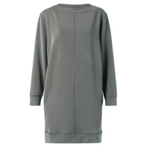 YAYA Modal blend dress grey