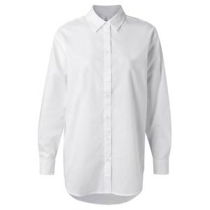 YAYA oversized poplin shirt wit
