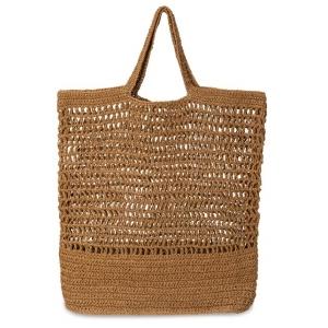 YAYA Raffia bag summer sand