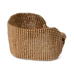 YAYA Bracelet with beads glass gold