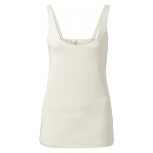 YAYA Double layer singlet bleached sand