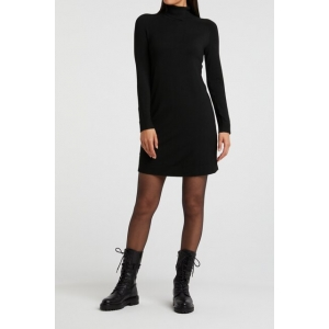 YAYA knitted dress with roll neck