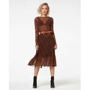 Freebird Fiona Paisley midi skirt