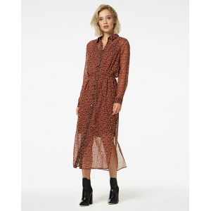 Freebird HARPER MIDI DRESS LONG SLEEVE