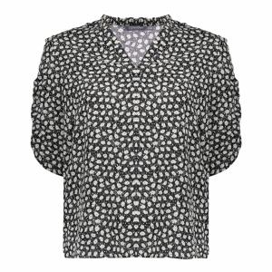 Geisha blouse met print
