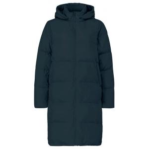 YAYA Long puffer jacket moonless night black