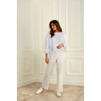 YAYA modal blend sweatshirt with pocket & drawstring